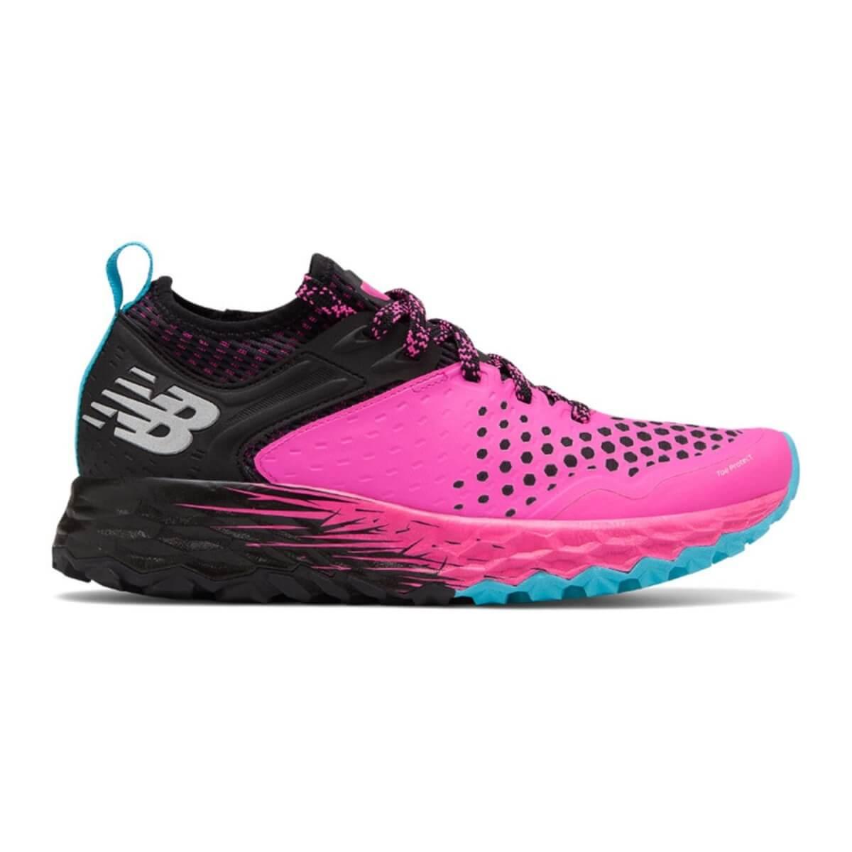 estoy de acuerdo con agudo pasta  New Balance Fresh Foam Hierro v4 Women's Running Shoes Pink Black