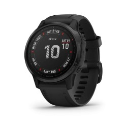 Garmin Fenix 6S Pro Black with Black Strap