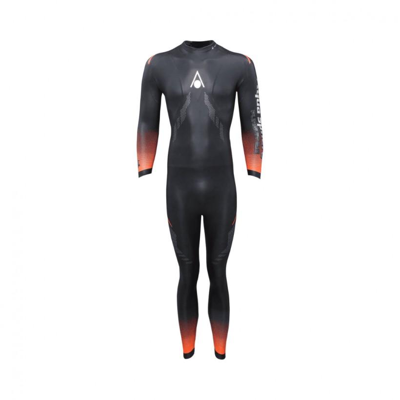 Aqua Sphere Pursuit Black Orange Wetsuit for Men