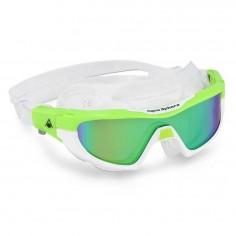 Aqua Sphere Vista Pro Swimming Goggles Green White