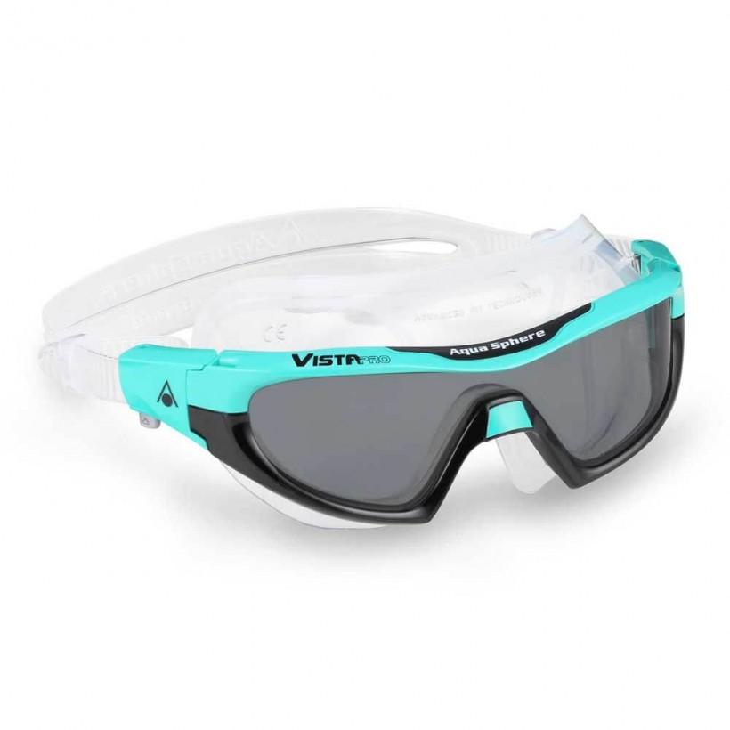 Aqua Sphere Vista Pro Swimming Goggles Sky Blue Black