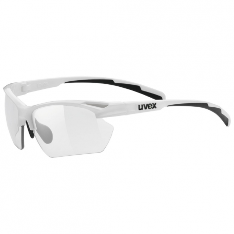 Uvex Sortstyle 802 Vario Small Glasses White Smoked Lens