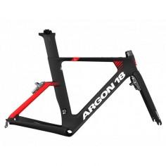 Bicicleta ARGON 18 E-117 ULTEGRA MIX 2020 Negro Rojo Mate