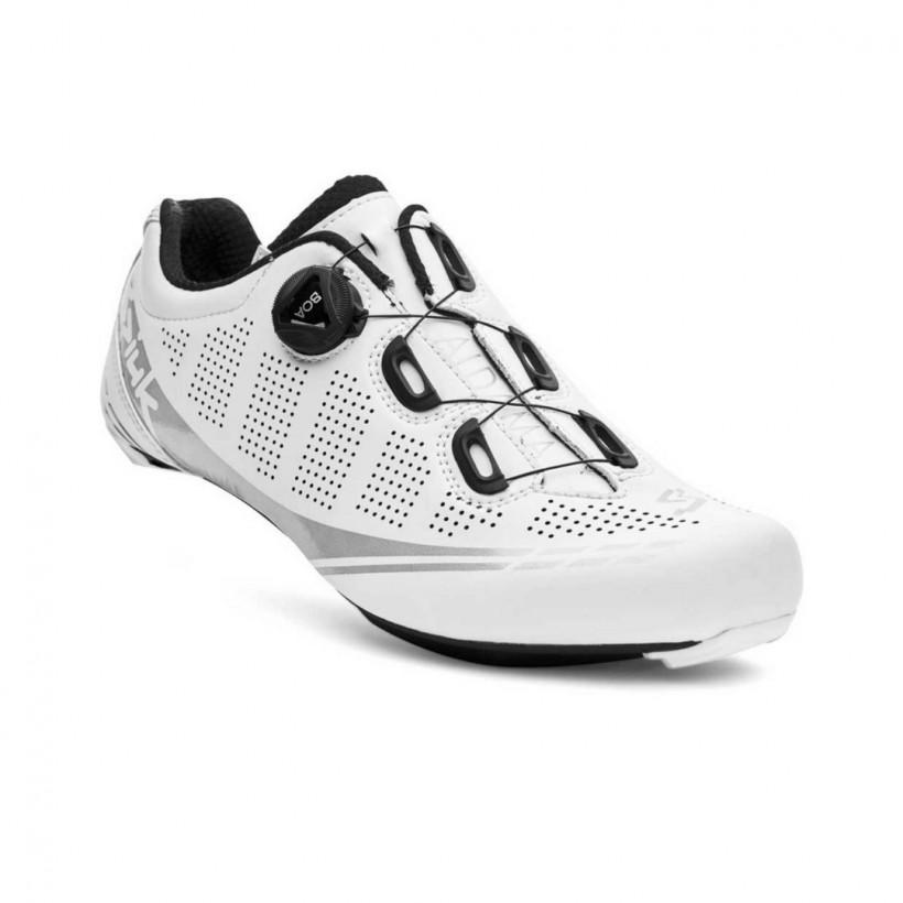 Spiuk Aldama Road Carbon Matte White Shoes