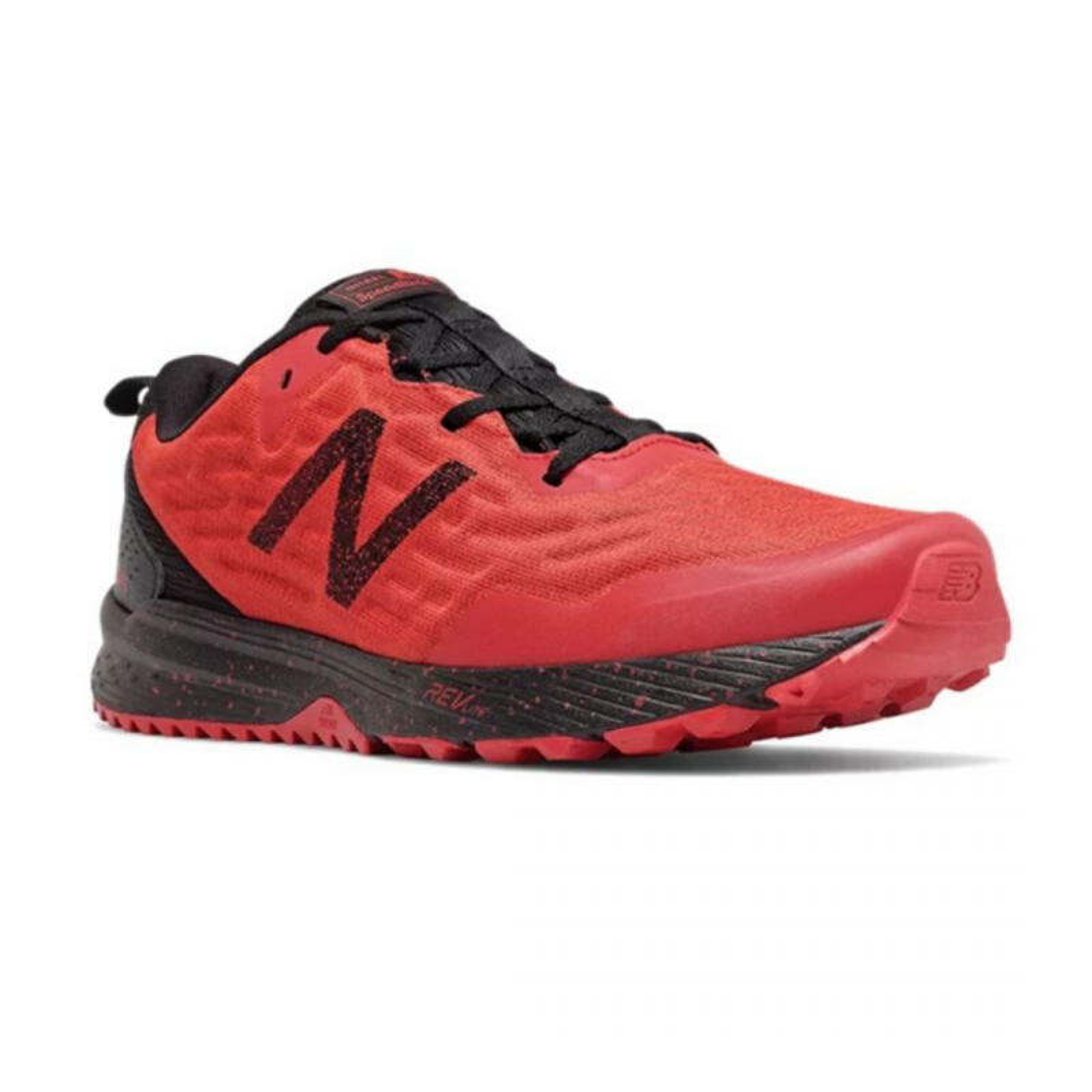 Trail Shoes New Balance Nitrel v3 Red Black Man PV20