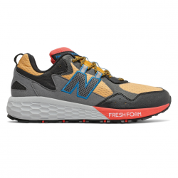 Zapatillas New Balance Crag Trail Fresh Foam Amarillo Gris Negro PV20