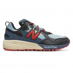 New Balance Crag v2 Trail Fresh Foam Blue Red Women Shoes