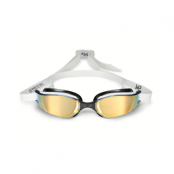 Michael Phelps Xceed White Swimming Goggles with mirrored lenses