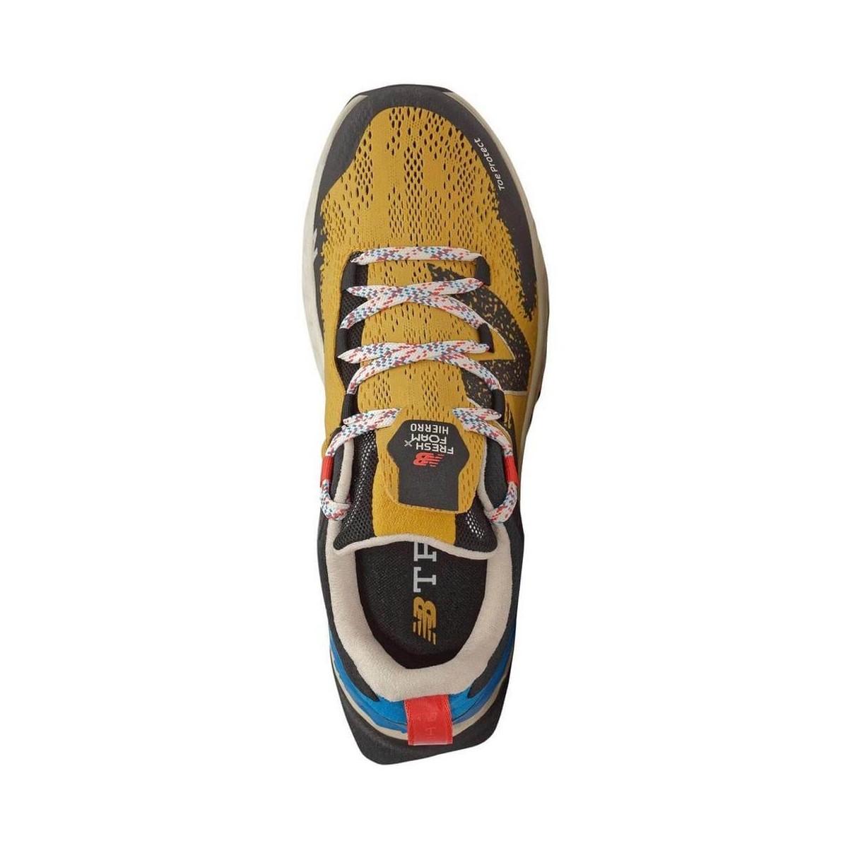 seleccione para el más nuevo suave y ligero precio de descuento Zapatillas Trail New Balance Fresh Foam Hierro V5 Oro Azul - 365 Rider
