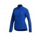 Chaqueta Running Adidas Azul Mujer