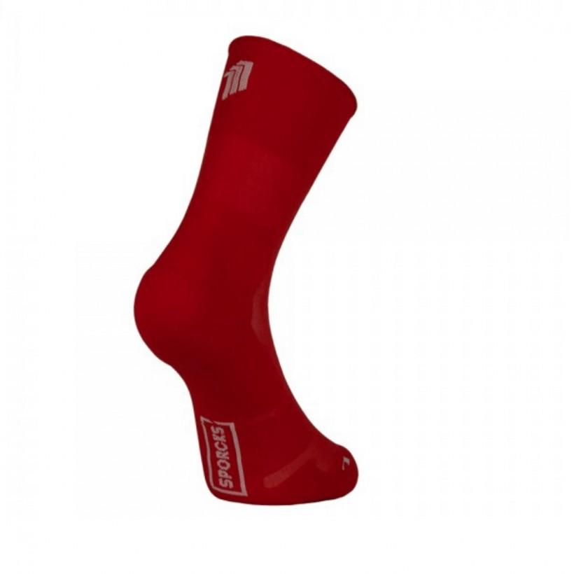 Sporcks Marathon Red Socks