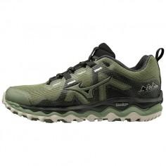 Zapatillas Mizuno Wave Mujin 6 Verde/Negro OI19 Hombre