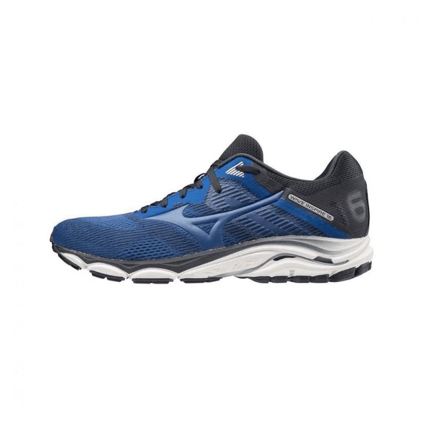 Mizuno Inspire 16 Dark Blue Black SS20 Men's Running Shoes