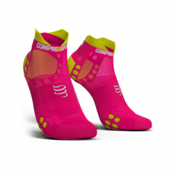 Calcetines Pro Racing V3 Ultra Light Compressport Rosa