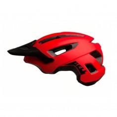 Casco Bell Nomad Rojo Negro Mate