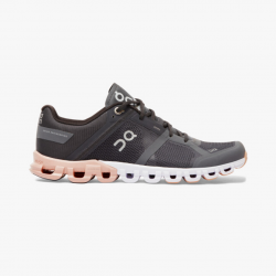 Zapatillas On Cloud Flow Gris Rosa PV20 Mujer