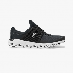 On Cloudswift Black Running Shoes