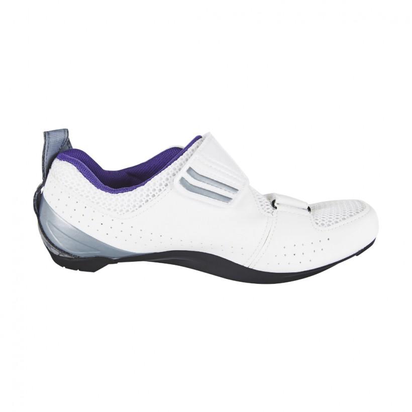 Zapatillas triatlon Shimano TR5 Mujer Blanco