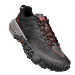 Zapatillas Hoka One One Speedgoat 4 Gris Negro PV20 Hombre