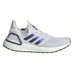 Zapatillas Adidas Ultra Boost 20 Gris Azul Púrpura Hombre