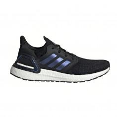 Zapatillas Adidas Ultra Boost 20 Negro Azul Púrpura Hombre PV20