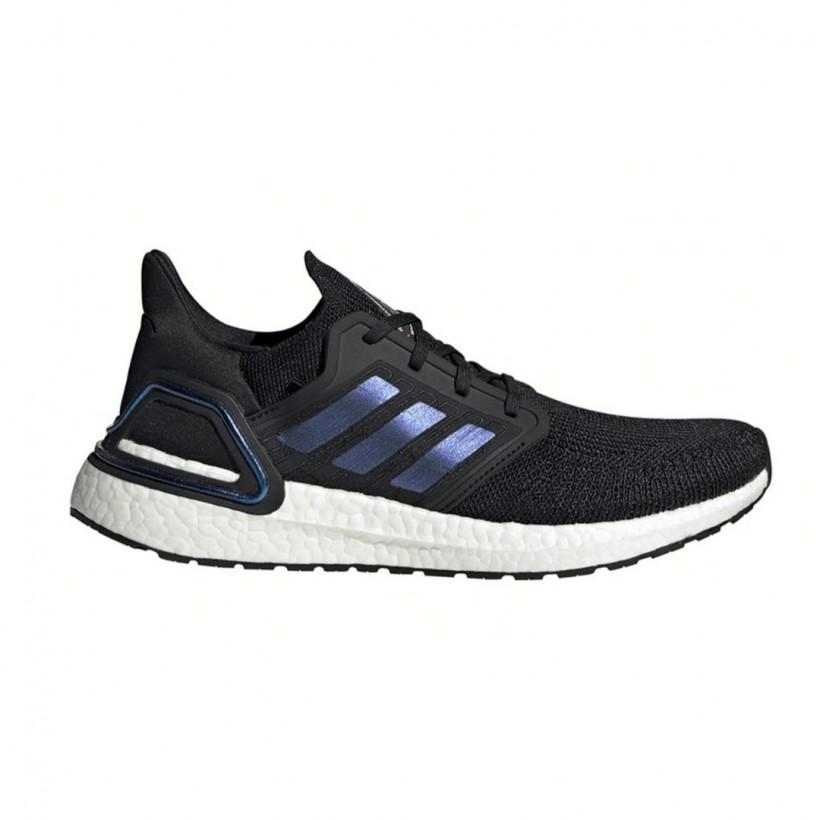 Zapatillas Adidas Ultra Boost 20 Negro Azul Púrpura PV20 Hombre