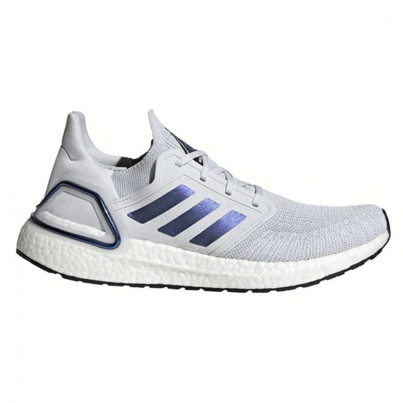 Zapatillas Adidas Ultra Boost 20 Gris Azul Púrpura PV20 Mujer