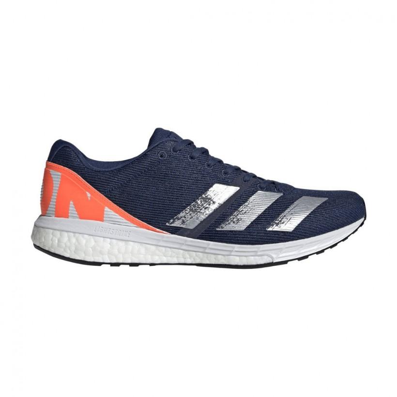 Adidas Adizero Boston 8 Blue White SS20 Men's Shoes