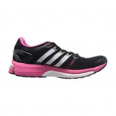 Zapatillas Adidas Adistar Boost ESM Negro Rosa Mujer