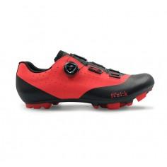 Zapatillas Fizik Vento X3 Overcurve Rojo Negro