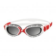 Gafas de Natación Zoggs Predator Flex 2.0 Polarizadas Blanco Rojo