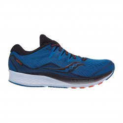 Saucony Ride ISO 2 Black Blue PV20 Men's Shoes