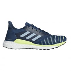 Zapatillas Adidas Solar Glide Azul Blanco Amarillo Hombre