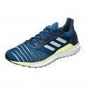 Zapatillas Adidas Solar Glide PV19 Azul Blanco Amarillo Hombre