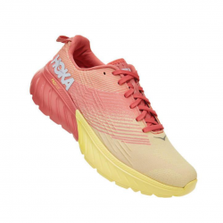Hoka One One Mach 3 Coral Amarillo Fluor PV20 Mujer