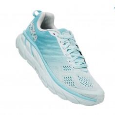 Zapatillas Hoka One One Clifton 6 Azul Blanco PV20 Mujer