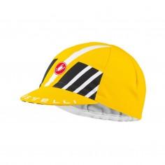 Gorra de Cicsmo Castelli Hors Categorie Amarillo