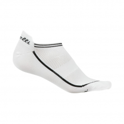 Calcetines Castelli Invisible Blanco Mujer
