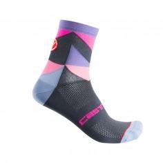 Castelli Unlimited Purple Pink Women's Socks