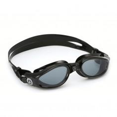 Aqua Sphere Kaiman Black Mirror Transparent Black Swimming Goggles