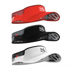 Visor Compressport Ultralight Rojo