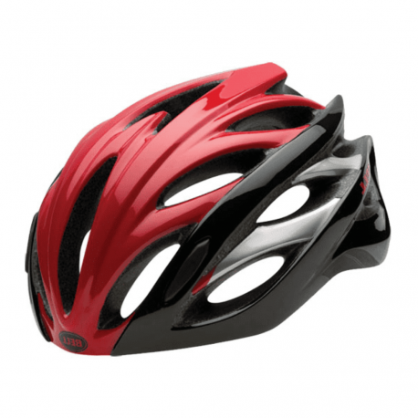 Casco Bici OVERDRIVE 2015 RED/BLACK HERO