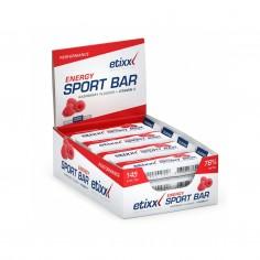 Barritas energéticas Etixx Energy Sport Bar 40g Sabor Frutos Rojos