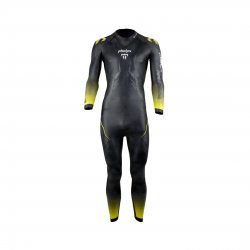 Michael Phelps Racer 2.0 Black Yellow Mens Wetsuit