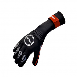 Neoprene Zone3 Swimming Gloves Black Red