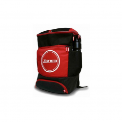 Transition Backpack for Triathlon Zone3 Transition Black Red