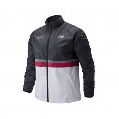 Jacket New Balance London Marathon White Black SS20 Man