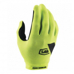 Guantes 100% Ride Camp Amarillo Fluor