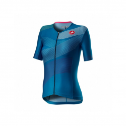 Maillot Castelli Free Speed 2 W Race Top Azul Marino Mujer