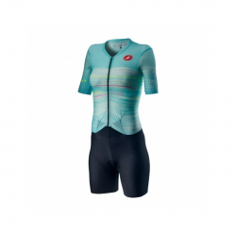 Tritraje Castelli Integral PR Speed Suit Aguamarino Mujer